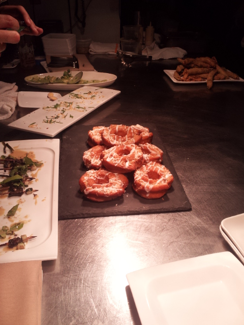 Round 1 of Tiffany MacIsaac's decadent doughnuts!
